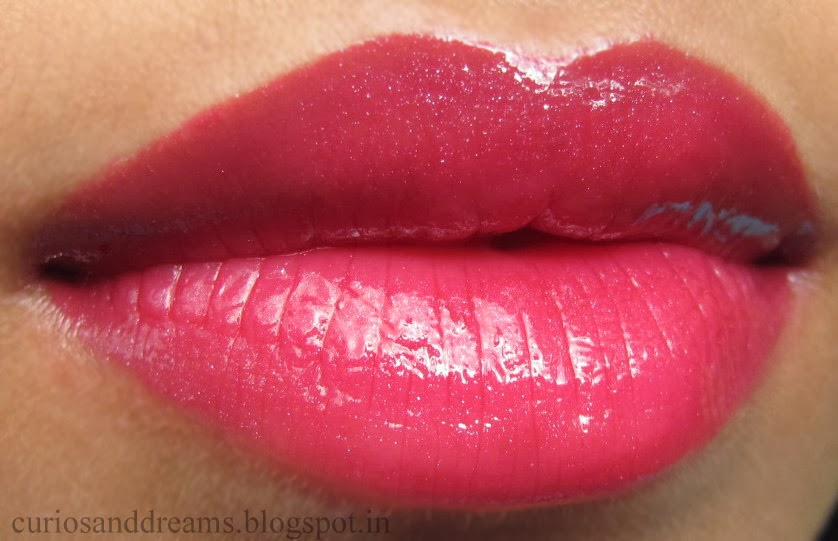 Maybelline Color Sensational Lip Gloss Plum Luster Review