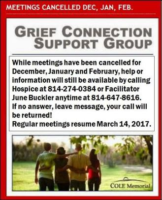 Grief Help & Info Available By Phone