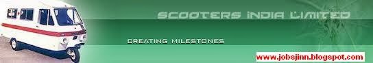Scooters India Limited (SIL) Recruitment for Trade Apprentice Posts 2014