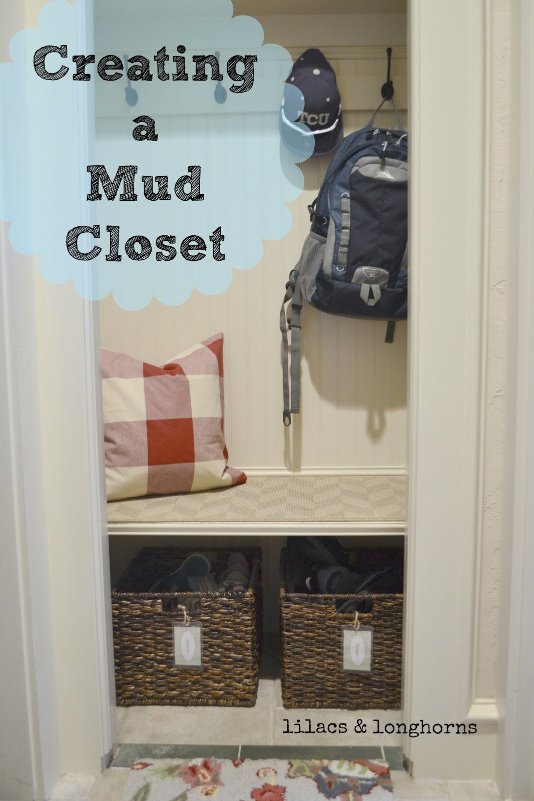 Lovely Mud Closet Project