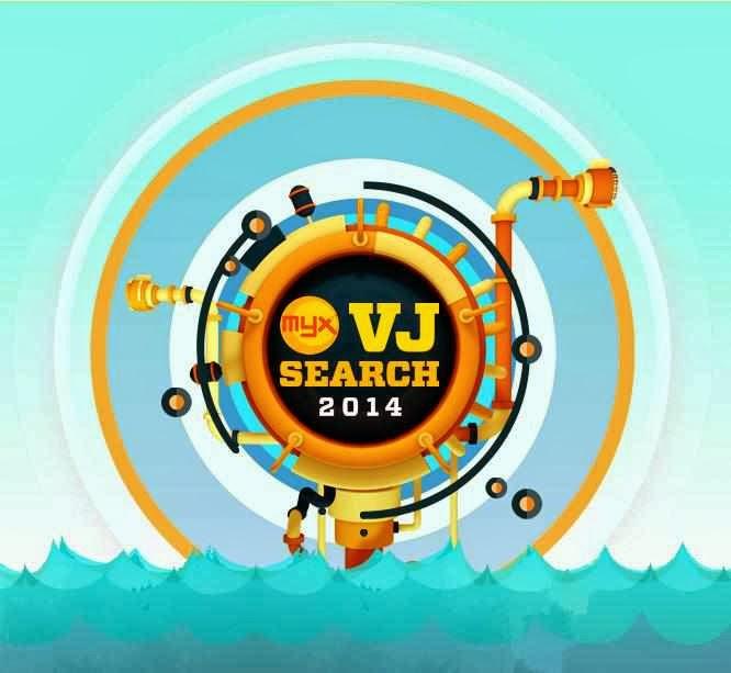 MYX VJ Search 2014 logo