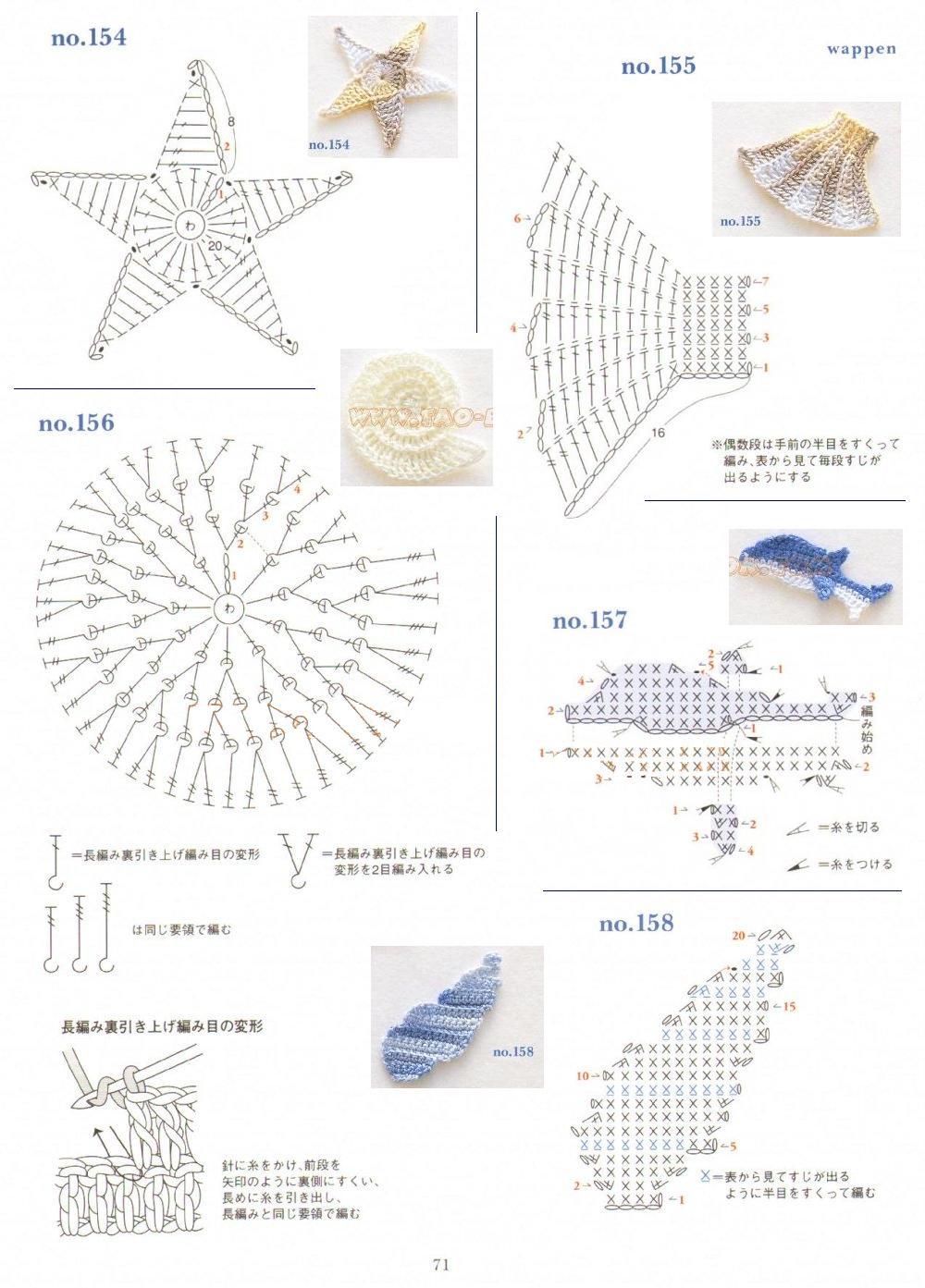 Схемы вязания фигурок животных крючком