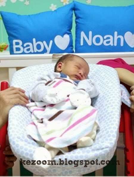 Yasmin Hani Namakan Anak Noah Ismail Wong