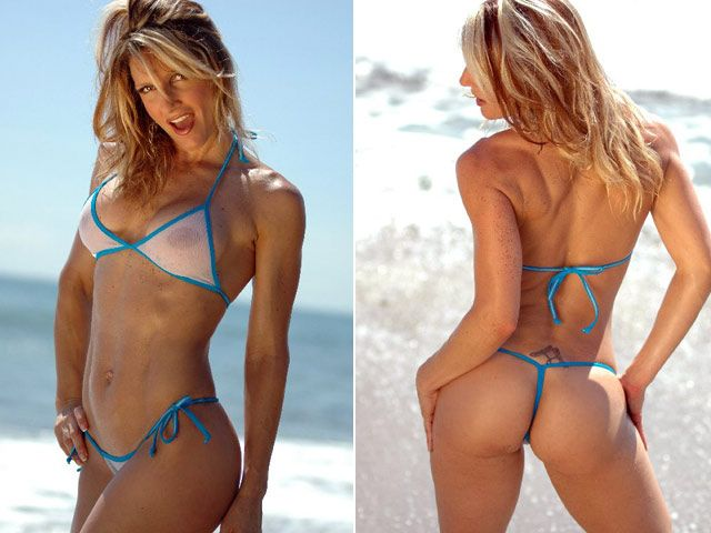 The sexiest and skimpiest Brazilian string bikini on one of the hottest ...