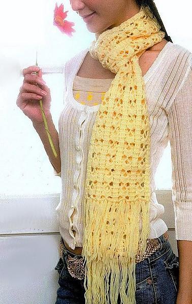 Otoño,Invierno época de bufandas, y qué mejor que sean hechas por un@ mism@ con puntos muy originales !