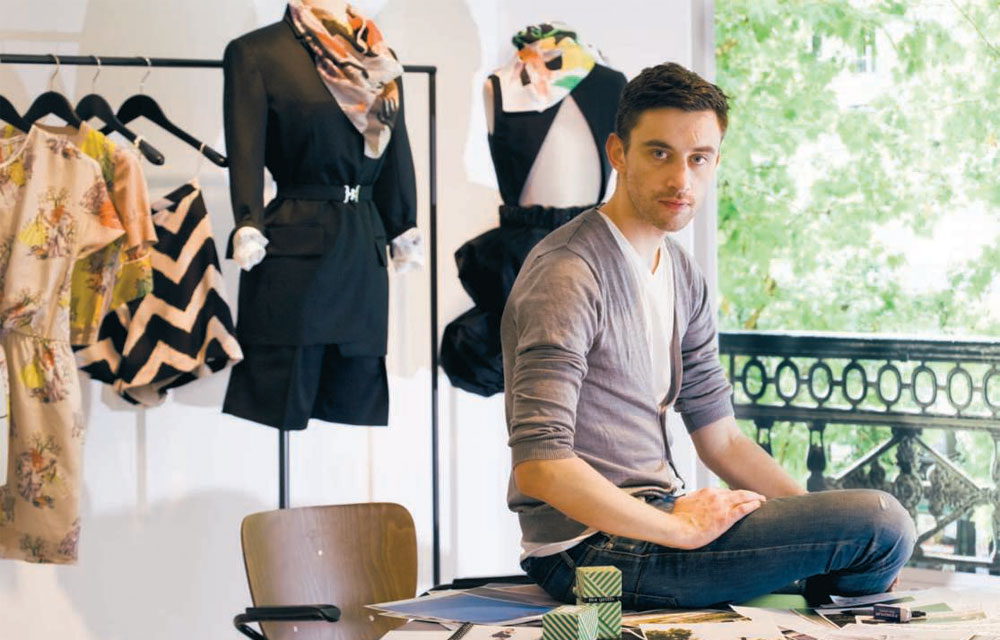 via fashioned by love | Guillaume Henry at Carven quarters