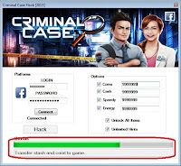 CRIMINAL CASE CHEAT ENGINE
