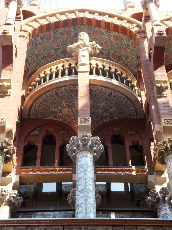 barcelone la ribera palais musique catalane