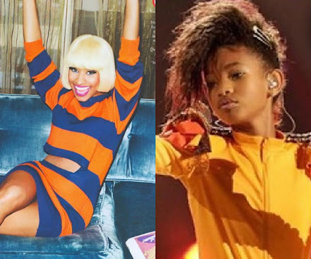 LISTEN: Willow Smith and Nicki Minaj join forces on Fireball!