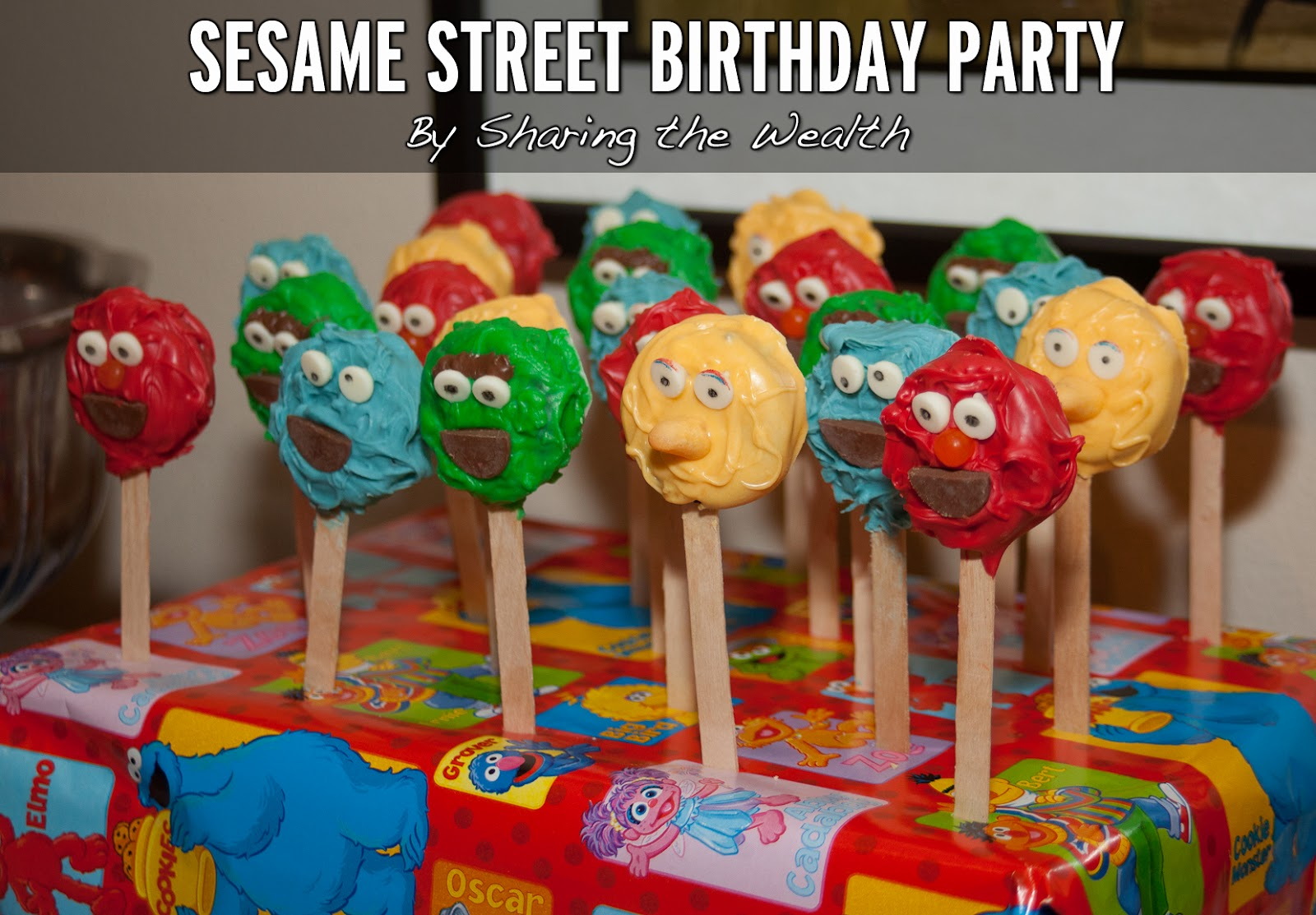 Sesame Street Decoration Ideas
