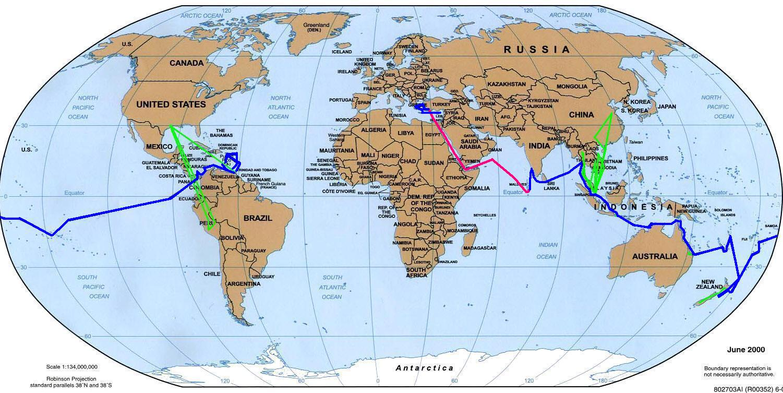 S V BeBe Our Circumnavigation