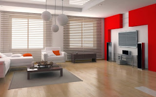Red and White Living Room Designs1