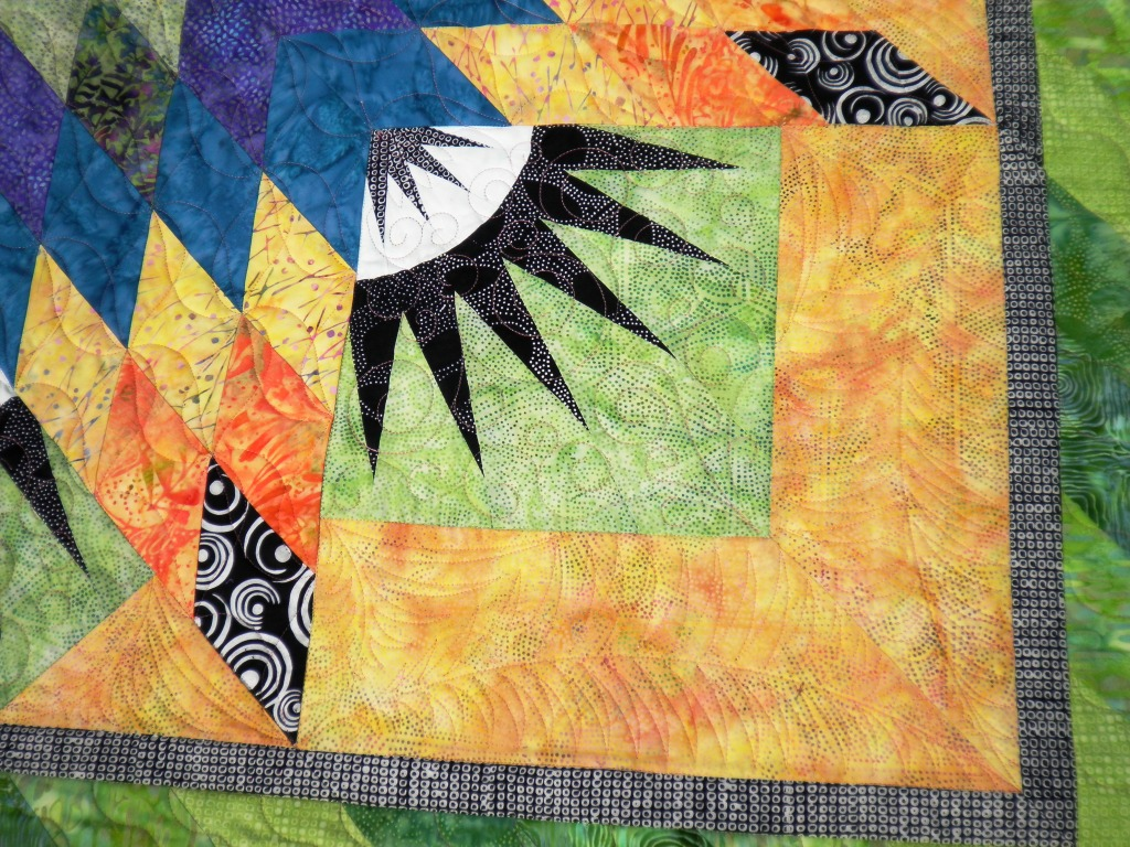 Quilt Pattern Radiant Star : Quilts by Barb - News from Barb: A Radiant Star with a Mariner s Compass