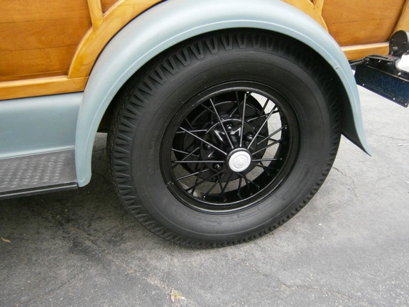 on 1929 Dodge Sedan