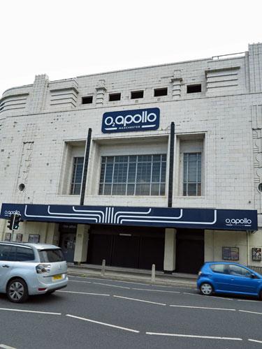 O2 Apollo Manchester, UK.