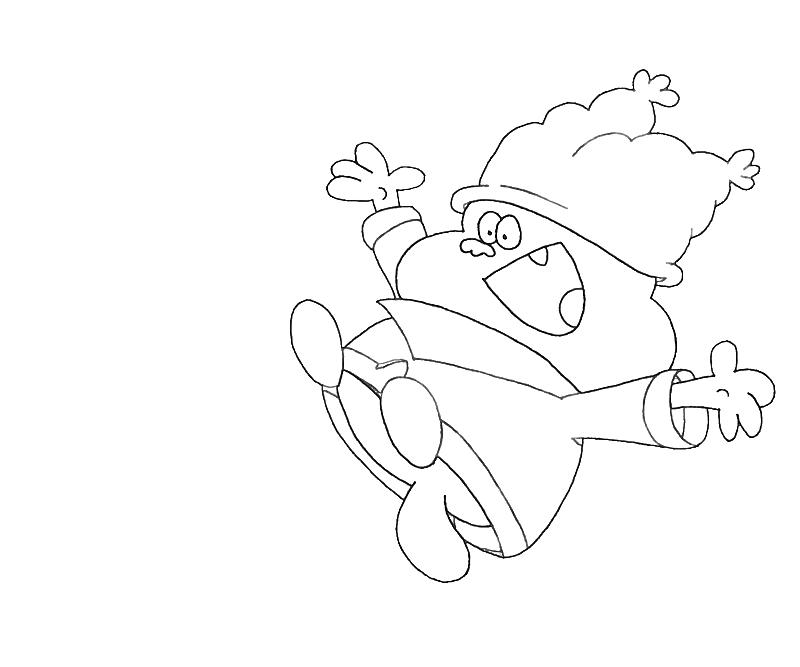 printable-chowder-character_coloring-pages