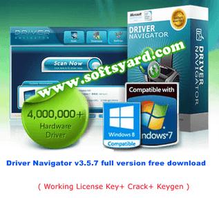 driver navigator v3.5.7 full version free download