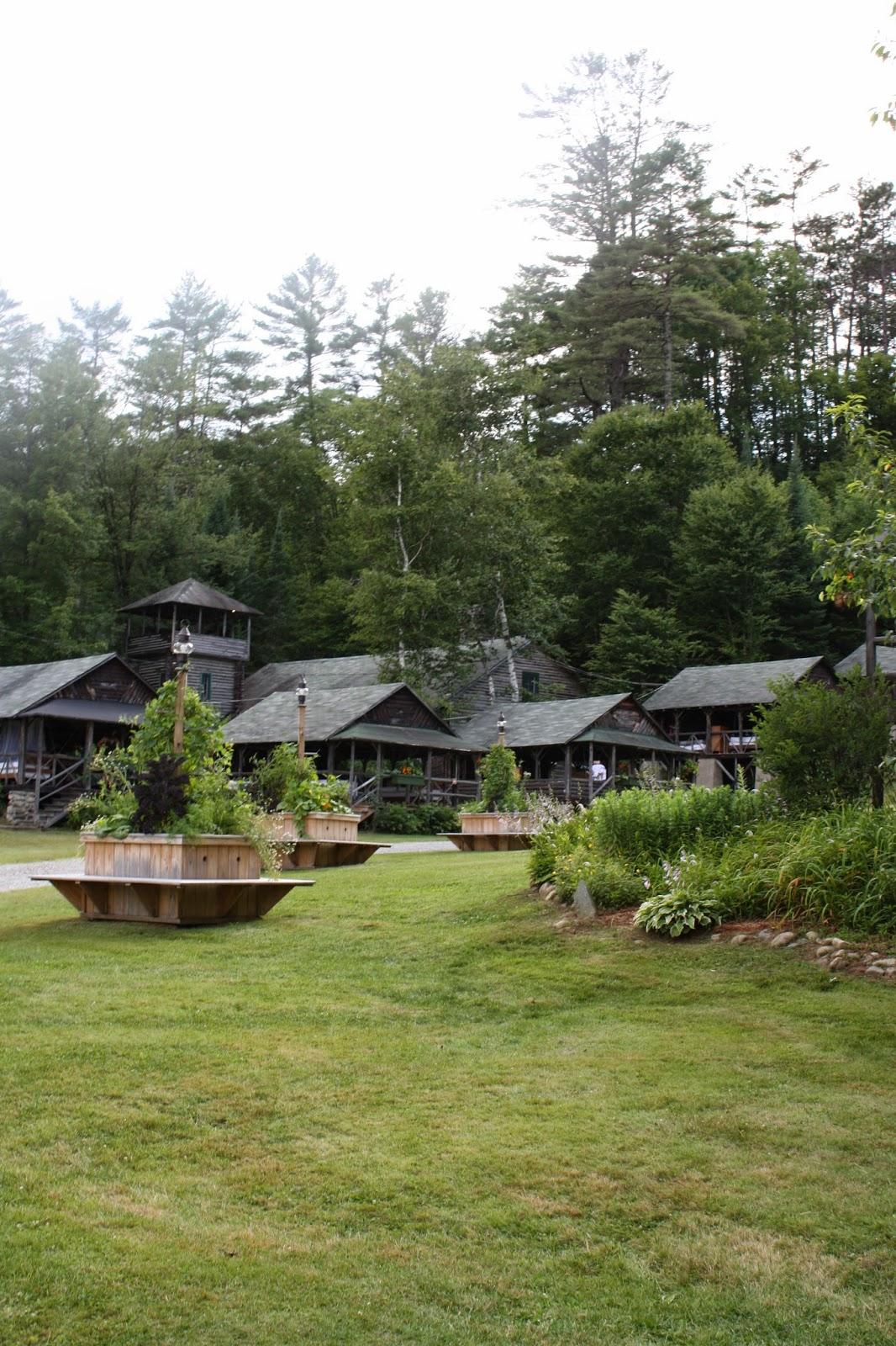 camp ogontz rehearsal hall cabins
