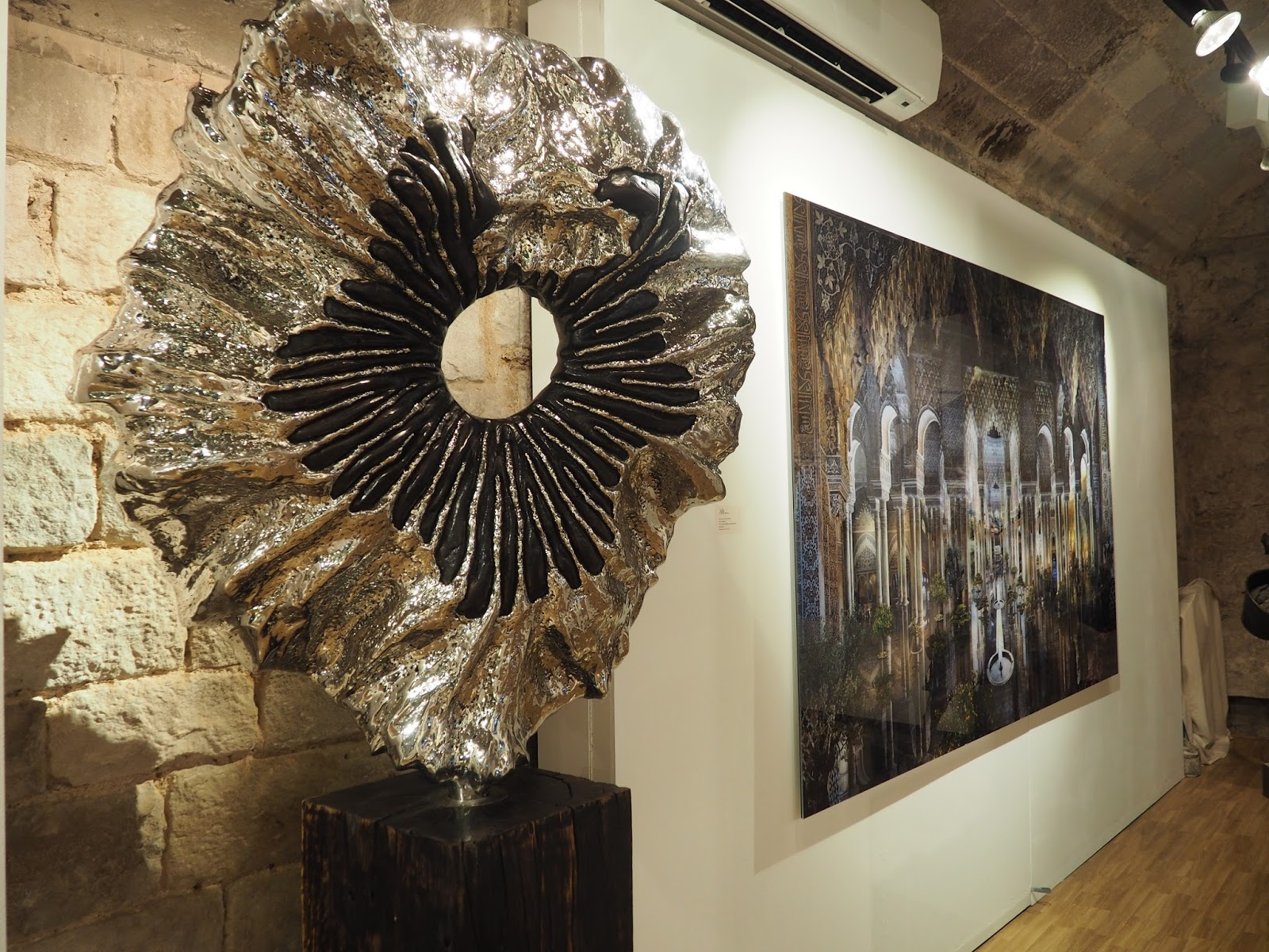 Exposicio D'Art Art Gallery Barcelona Review Blog Spanish Art