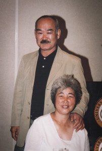 T K Chiba Shihan and Madam Chiba.