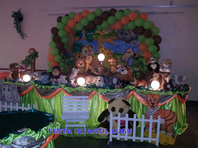 Festa inafantil - Tema floresta Baby