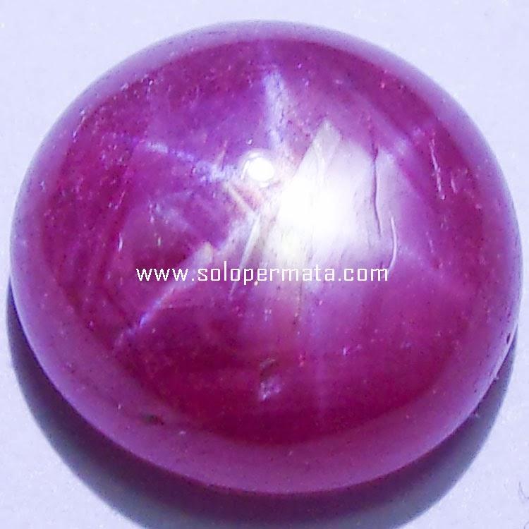 Batu Permata Ruby Star - 25A04