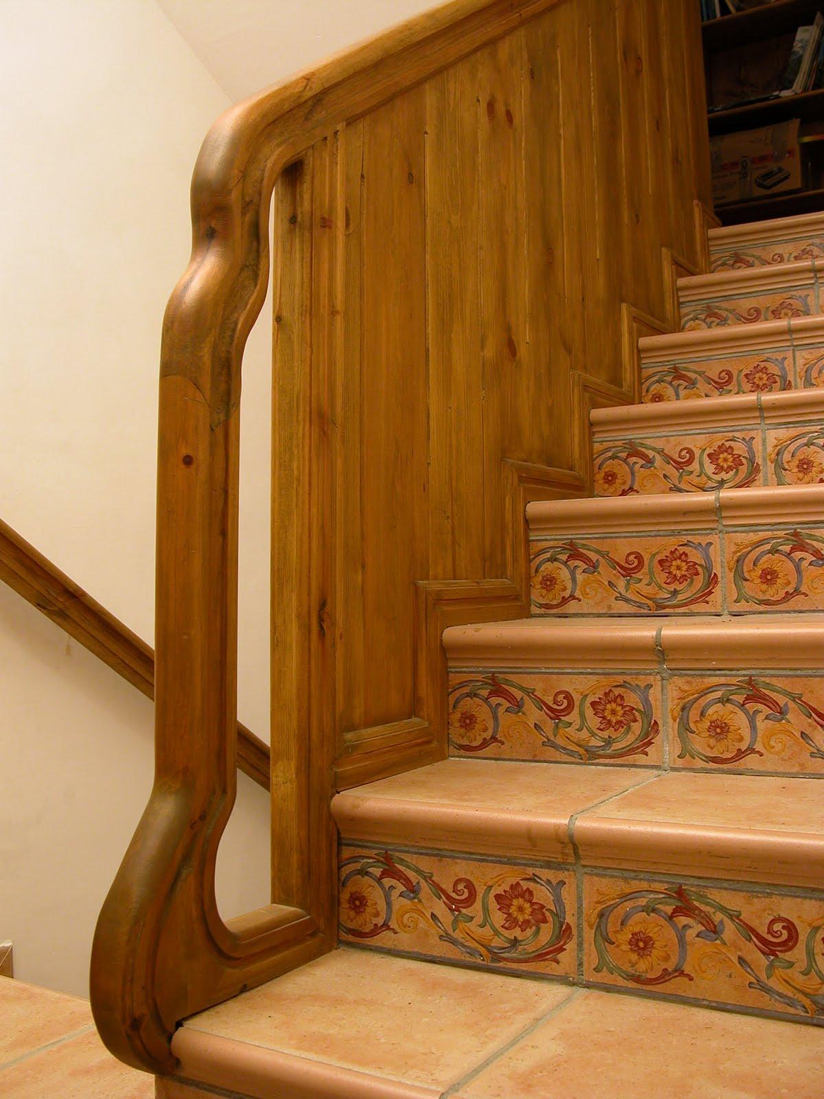 Miguel sevil carpintero escaleras y barandillas - Escaleras y barandillas ...