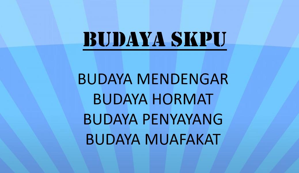 BUDAYA SKPU