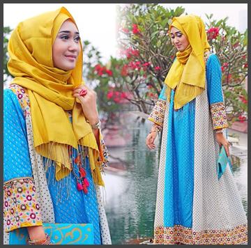Model Baju Khas Dian Pelangi Model Baju Muslim