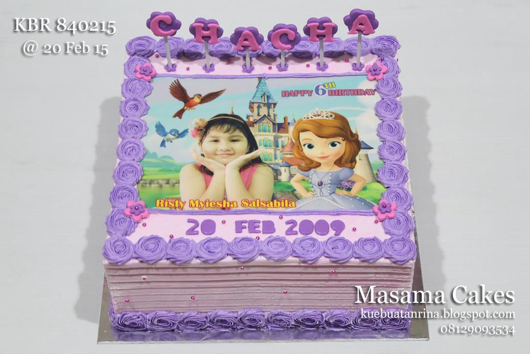 Masama Cakes Birthday Cake Sofia For Chacha