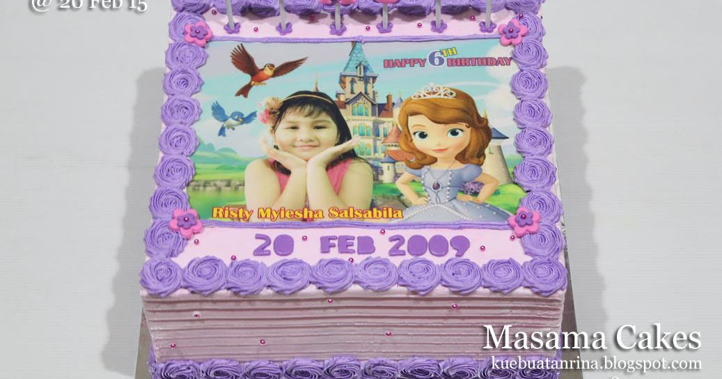 Masama Cakes Birthday Cake Sofia For Chacha