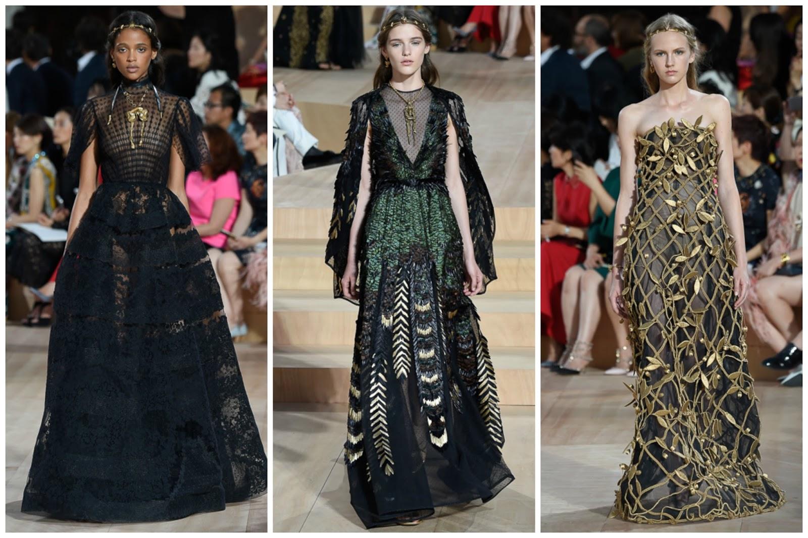 Valentino runway best couture alta moda Roma