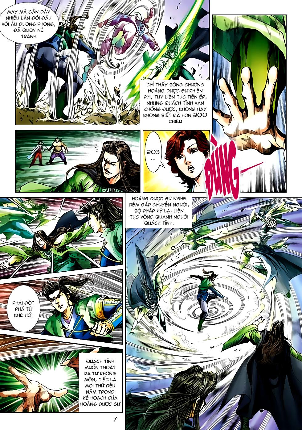 Xạ Điêu Anh Hùng Truyện chap 100 – End Trang 7 - Mangak.info
