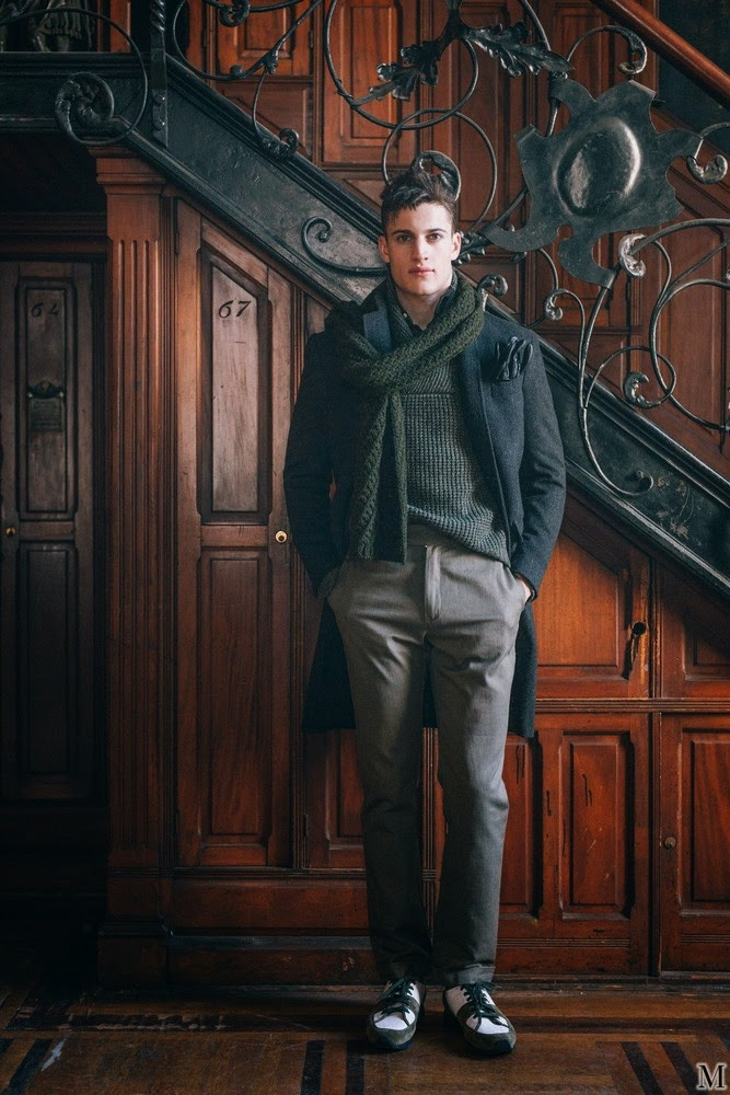Eidos Napoli Fall/Winter 2015/16 Menswear Collection ...