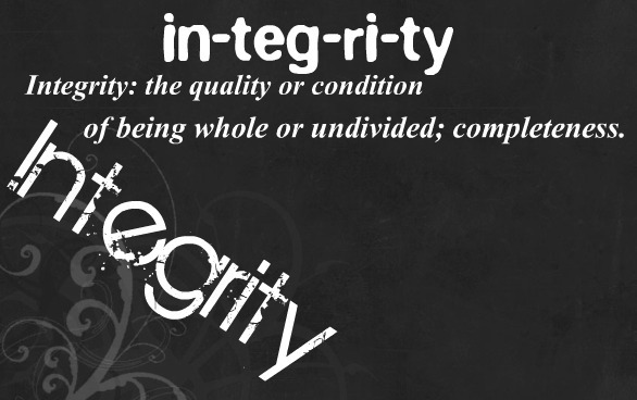 what integrity means to me My experience as an integrity ambassador started with a town hall meeting,  which gave me the opportunity to share our global focus on.