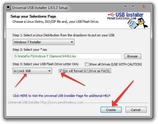 Как сделать флешку загрузочной на windows xp