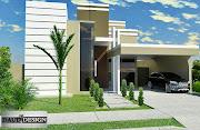 Daud Design: Fachada em casa de condomínio.(São José do Rio Preto-