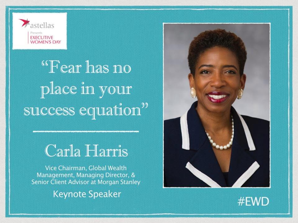 Carla A. Harris EWD Keynote Speaker PGATourWoman