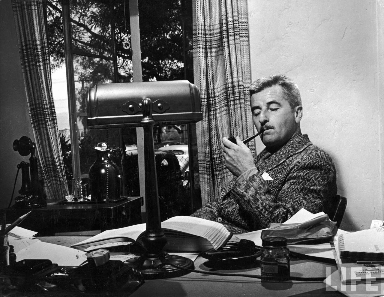 the focus of racism in the works of william faulkner William faulkner biography - william faulkner wrote works of psychological drama and emotional depth, typically with long serpentine prose and high, meticulously-chosen diction.