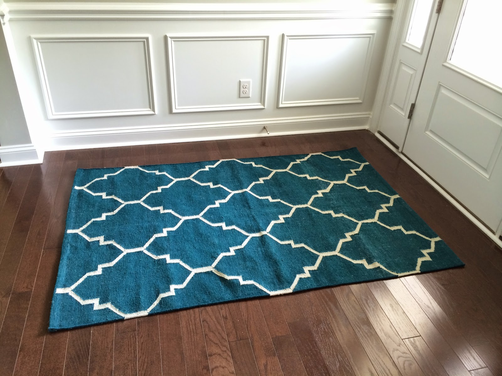 Another HomeGoods Rug Purchase