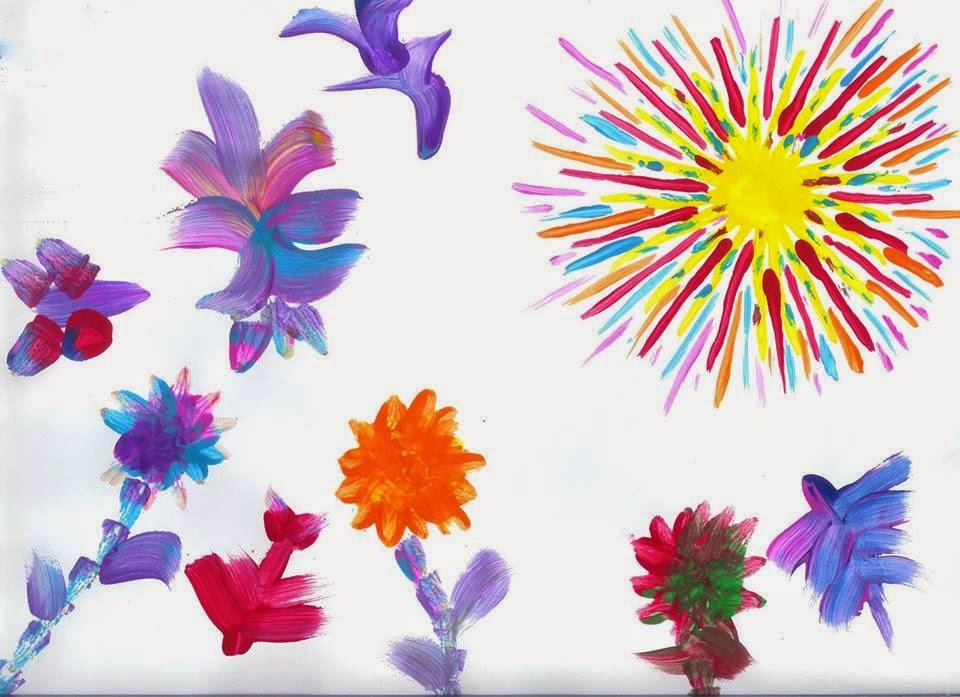Hasil Seni Anak Autisma Ogos 2014