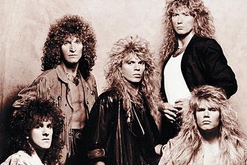 Formación de Whitesnake en 1987