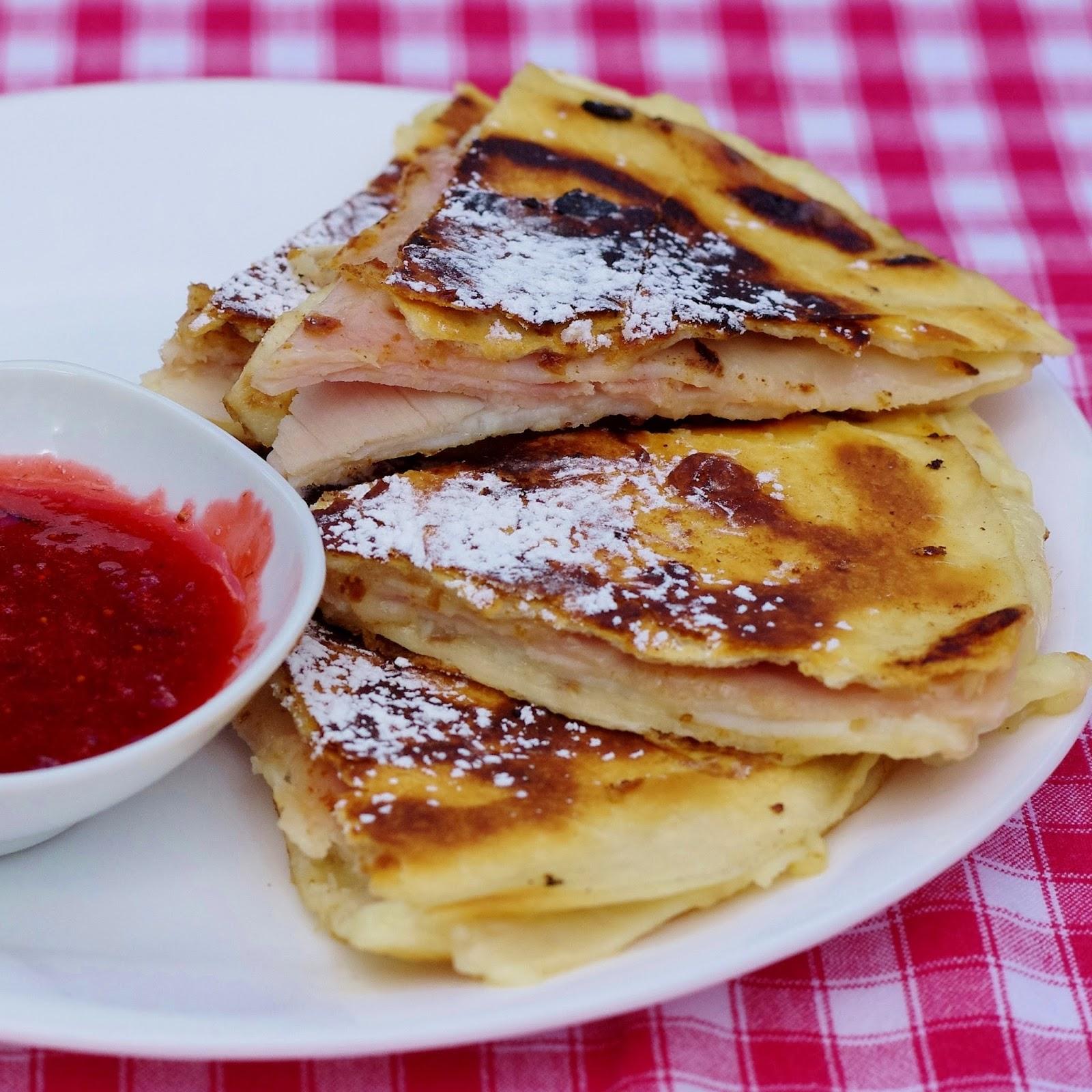 Sage Trifle: Monte Cristo Quesadillas