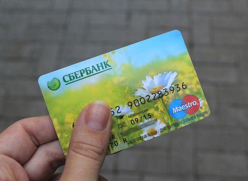 Как заменить карту сбербанка если она сломана