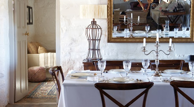 rustic english chic decor