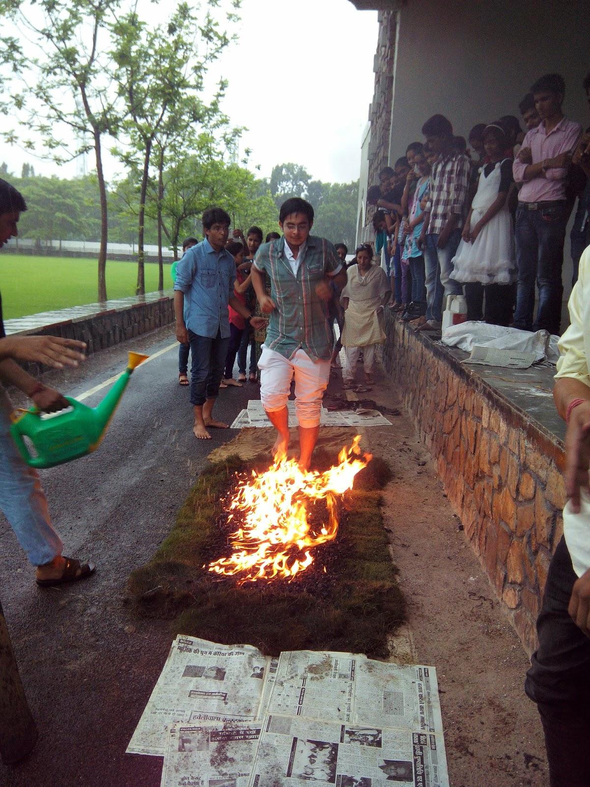 Fire Walk, Nadeem Kazi, Leadership Training, NLP Training, Mind Power