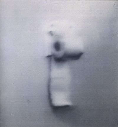 Richter on Gerhard Richter   Toilet Paper  O C  1965