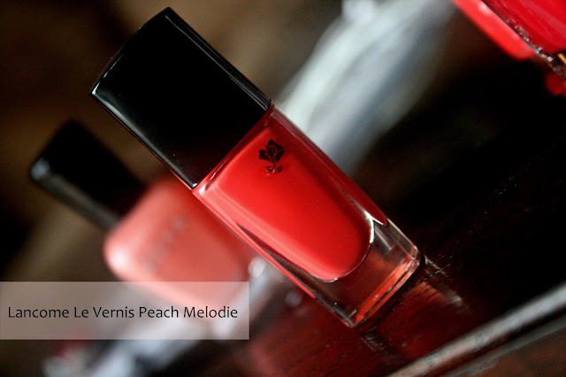Lancome Le Vernis in Peach Melodie