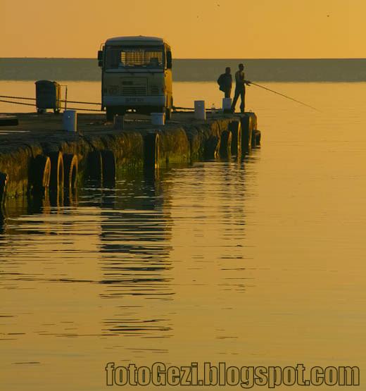 Ereğli Limanında Balık Keyfi