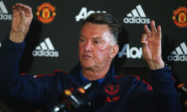 Louis van Gaal: We have to win the Europa League
